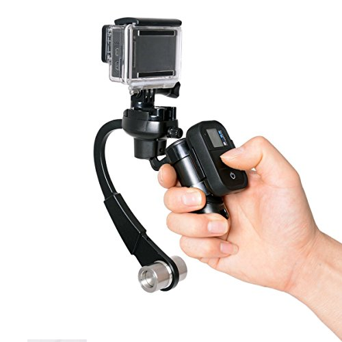 3-Axis Inertia Gyro Stabilizer W/ GoPro Remote Control Holder Clip with GoPro Grip Handle Stabilizer GoPro Gimbal Video Stabilizer Support for DSLR Cameras GoPro / Hero 4 / 3+/ 3(black) (3 Axis Gimbal compare prices)