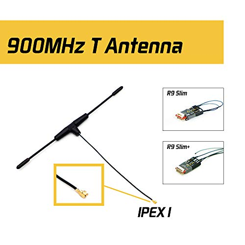 - Original FrSky 900MHz Dipole T Antenna IPEXI for R9 Slim/Slim+ Receiver FCC Version