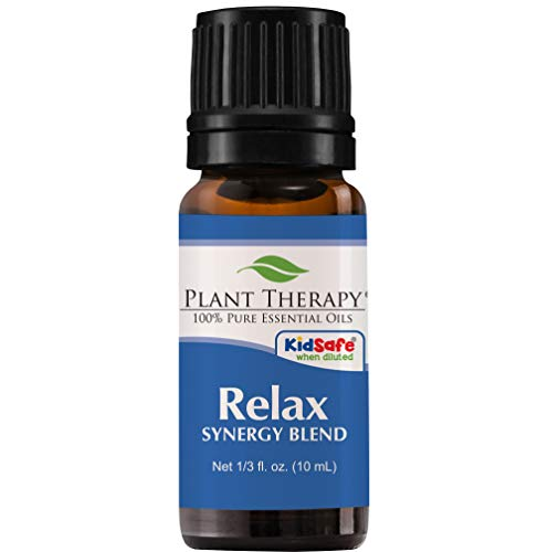 Plant Therapy Relax Synergy Essential Oil 10 mL (1/3 oz) 100% Pure, Undiluted, Therapeutic ()