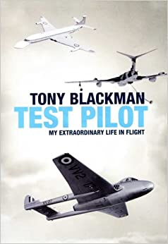 Book Tony Blackman - Test Pilot