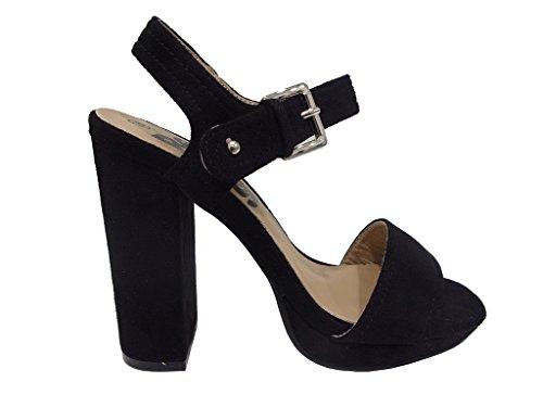 Refresh - Zapatos de vestir de Material Sintético para mujer negro negro