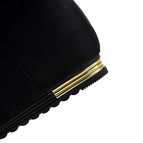 36 5 Balamasa Abl11606 Noir Femme Compensées Sandales Noir qYwgO