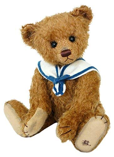 (Teddy Bruno - a Magnificent, collectable, Fully Jointed Mohair Handmade Teddy Bear from Clemens-Spieltiere of Germany - Limited to only 299. A Ideal Gift or collectable. A Unique Teddy)