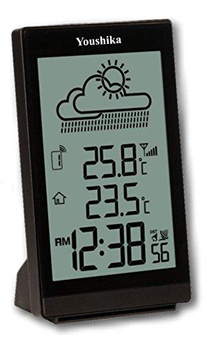 Youshiko Digital Wireless Weather Station (Premium Quality/Clear Display)...