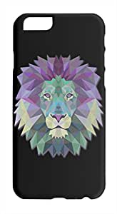 King Of The Jungle Colourful Lion Head Iphone 6 plastic case