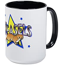 CafePress - Weasels - Coffee Mug, Large 15 oz. White Coffee Cup