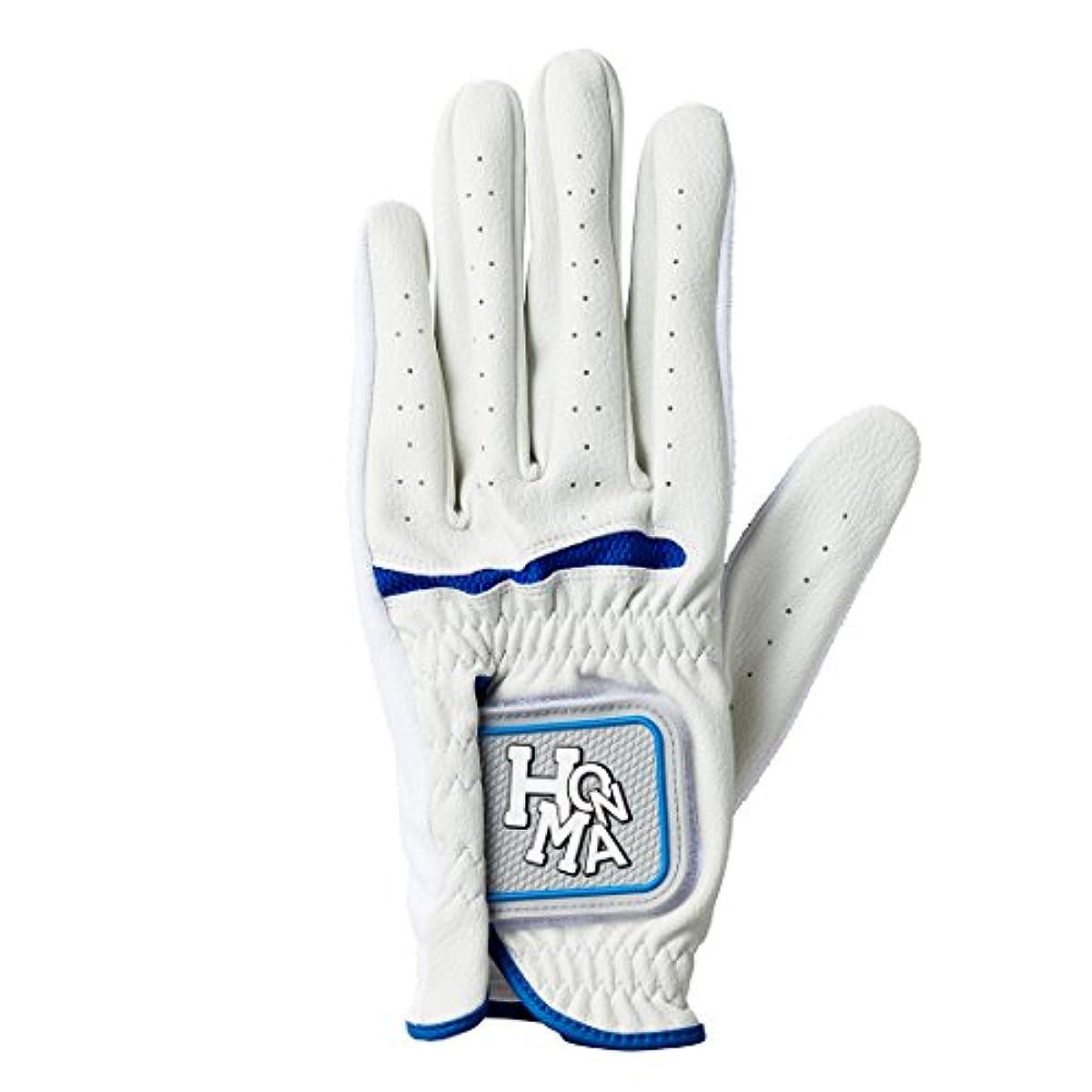 [해외] 혼마 골프 골프 글러브 HONMA GF-1704 맨즈 화이트/블루 24