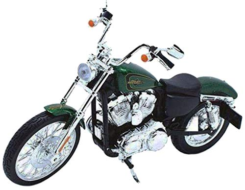 Maisto New 1:12 Harley-Davidson Custom - Green 2013 XL 1200V Seventy-Two Motorcycles