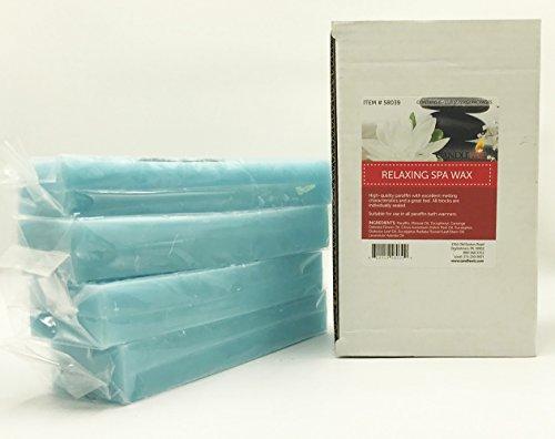 6PK Hot Spa Paraffin Wax Refill (Relaxing) ()