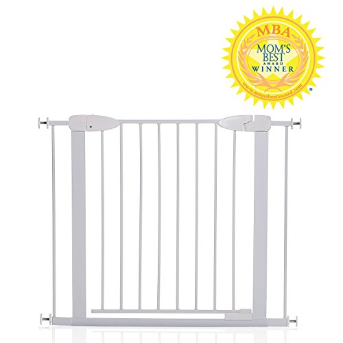 Dreambaby Boston Auto Close Gate with Ezy Check Indicator, White