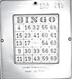 Bingo Game Chocolate Candy Mold Create Design Jackpot