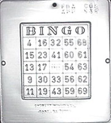Bingo Game Chocolate Candy Mold Create Design Jackpot by playful-gifts