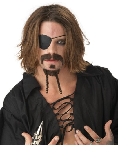 Adult Rogue Pirate Mustache and