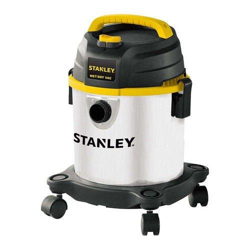 Stanley Wet/Dry Vacuum, 3 Gallon, 4 Horsepower, Stainless Steel Tank