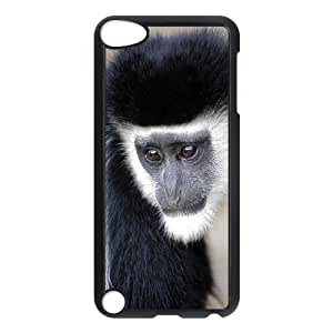 D-PAFD Customized Print Monkey Pattern Hard Case for iPod Touch 5
