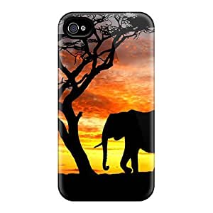 For Elephants Silhouette Elephants Protective Case Cover Skin/iphone 6 plus 5.5 Case Cover