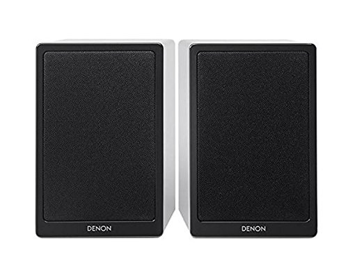 Denon scn9 par de Altavoces, Color Blanco