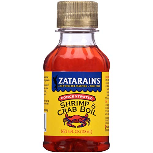 (Zatarains Concentrated Crab and Shrimp Boil, 4 fl oz)