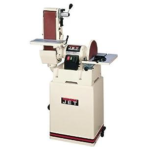 JET 708598K JSG-6CS 6-Inch/12-Inch 1-1/2 Horsepower Belt/Disc Sander, 115/230-Volt 1 Phase