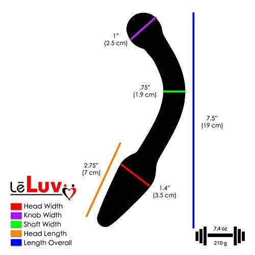 LeLuv-Medium-Glass-Prostate-Massager-Blue-Anal-Wand-G-Spot-Toy-Bundle-with-Premium-Padded-Pouch