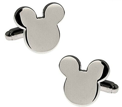 Disney's Mickey Mouse Ears Silvertone Metal (Dead Mouse Costume For Sale)