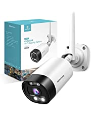 HeimVision Outdoor Security Camera 1080P CCTV Wireless WiFi Waterproof Surveillance Camera with Night Vision, Remote Access, Two-Way Audio, Motion Detection, Floodlight, Cloud Service/SD Card Support