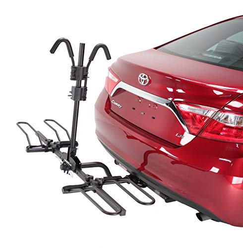 Hollywood Racks - 2-Bike Hitch Mounted Rack, HR200Z Trail Rider Platform Style Bike Rack - Fits 1.25 and 2-Inch Receivers (Hollywood Rides A Bike Cycling With The Stars)