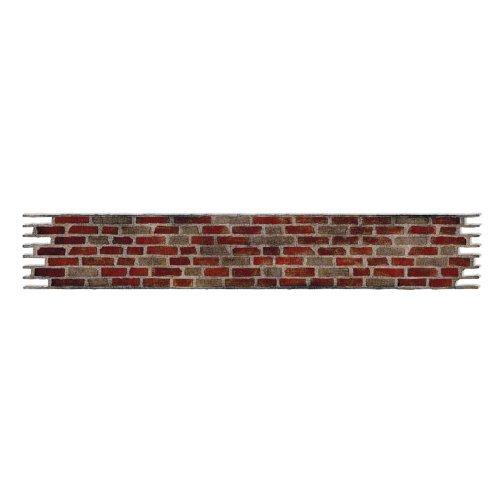 Alphabet Brick (Sizzix Sizzlits Decorative Strip Die - Brick Wall by Tim Holtz)