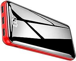 【2020年最新型&PSE認証済&鏡面仕上げデザイン】モバイルバッテリー 25000mAh 大容量 LCD残量表示 スマホ充電器 急速充電 TYPE-Cとmicro入力ポート PSE認証済み iphone/ipad/Android等対応...