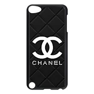 DIY phone case chanel cover case For Ipod Touch 5 JHDSQ3435