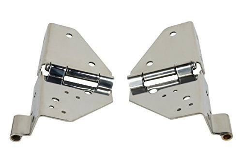 Kentrol Windshield Hinge (Pair) 30403 (Windshield Jeep Hinge Wrangler)