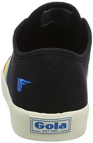 Black Sneaker Rainbow Multi Gola Nero Multi Donna Black Bz Coaster 40xf6