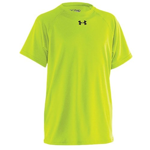Under Armour Boys' UA Locker Short Sleeve Youth X-Large High-Vis Yellow by Under Armour