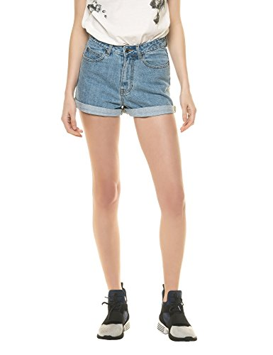 dr-denim-jeansmakers-womens-jenn-womens-light-blue-denim-shorts-in-size-28-light-blue