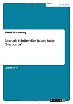 Book Julian als Schriftsteller: Julians Satire