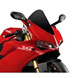 15-17 DUCATI 1299P: Puig Racing Windscreen (BLACK)