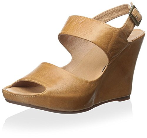 Chocolat Blu Mujeres Cortez Sandal Camel Leather