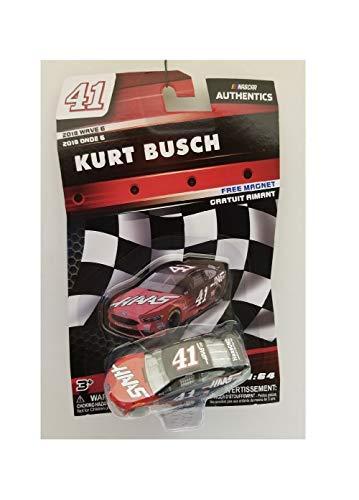 Kurt Busch Car - L Nascar Kurt Busch Wave 6 2018 with Free Magnet No. 41 HAAS