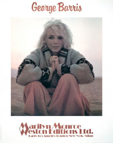 Marilyn Monroe - The Warm Up by George Barris Art Print Poster