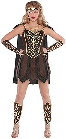 Disfraz de gladiadora romana Xena La Princesa Guerrera, para mujer ...