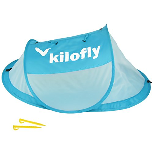 kilofly Original Instant Pop Up Portable UPF 35+ Travel Baby Beach Tent + 2 Pegs