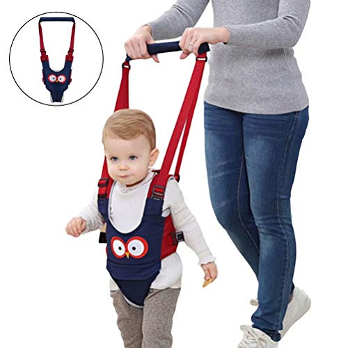 Baby Walker, Baby Adjustable Walking Safety Harnesses, Pulling and Lifting Dual Use Breathable Stand Up,Walking Learning Walker for Baby,Boy,Girl 8-16 Month
