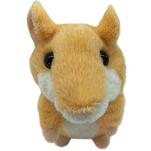 Stuffed Animal Mimicry Talking Mouse Hamster,Recordable Interesting Plush Toys Doll Baby Kids Birthday Gift Xmas Gift