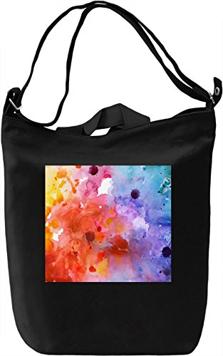 Painted Artwork Pattern Borsa Giornaliera Canvas Canvas Day Bag| 100% Premium Cotton Canvas| DTG Printing|