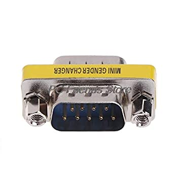 Cable Length: Other Computer Cables 10 Pcs 9 Pin RS-232 DB9 Male to Male Serial Cable Gender Changer Coupler Adapter-PC Friend