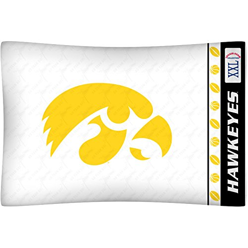 Iowa Hawkeyes Pillow (NCAA Iowa Hawkeyes Micro Fiber Pillow Case Logo)
