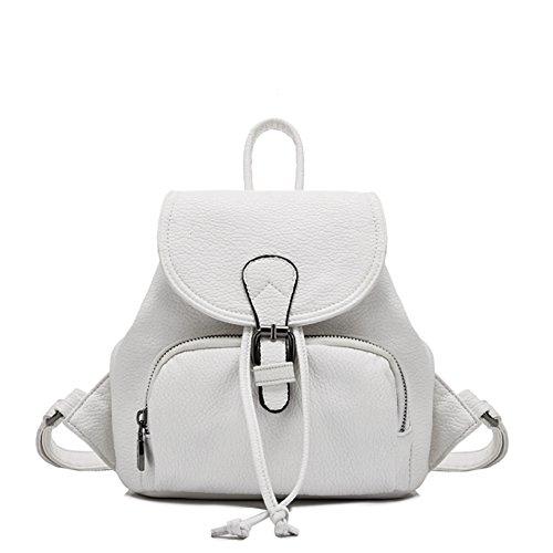 Mochila de cuero suave/De las mujeres británicas viaje bolso/Bolsa de viaje/mini Lady-D D