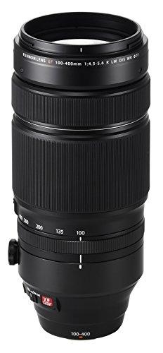 Fujinon XF100-400mmF4.5-5.6 R LM OIS WR, Black