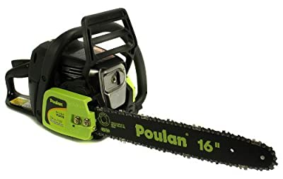 Poulan Manufacturer Refurbished PP3816 16 38CC 2 Cycle Gas Powered Chain Saw Home/Tree Chainsaw Oiler, Model: PP3816A, Home/Garden & Outdoor Store