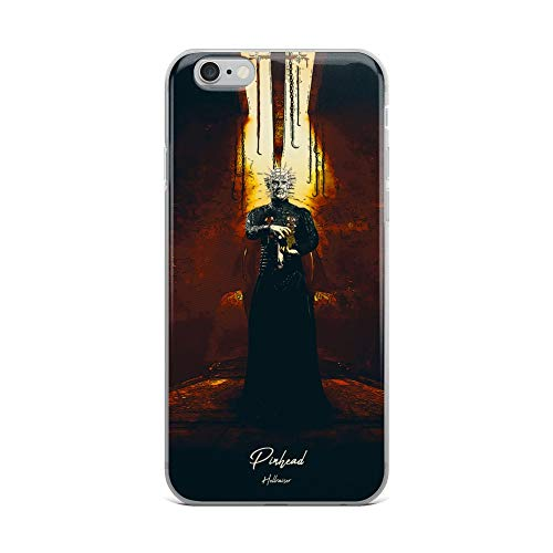 iPhone 6 Plus/6s Plus Case Anti-Scratch Motion Picture Transparent Cases Cover Hellraiser Pinhead Action Movies Video Film Crystal Clear]()